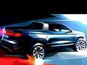 Volkswagen devela la primera imagen de su próxima pickup