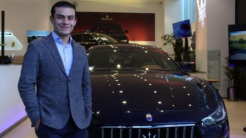 Entrevistamos a Guillermo Ordoñez de Maserati México ¡al volante de un Levante!