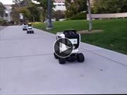 Video: Conocé a Kiwi, el robot autónomo que te lleva el almuerzo