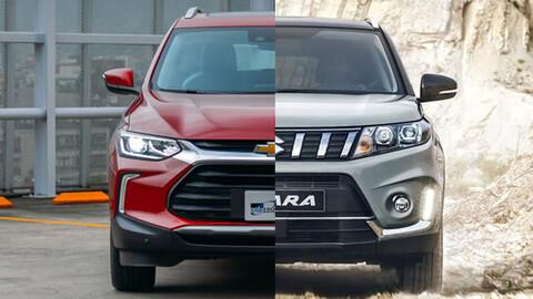 Chevrolet Tracker 2021 vs Suzuki Vitara 2020, viejas conocidas se baten a duelo ¿cuál eliges?