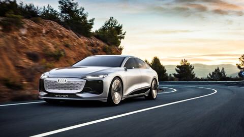 Audi A6 e-tron Concept: Con la autonomía e iluminación del futuro