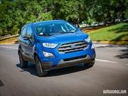 Test Drive: Ford EcoSport 2018