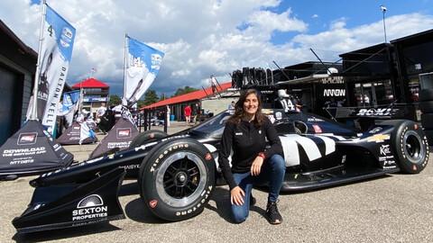 Tatiana Calderón probará un IndyCar