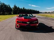 Prueba nuevo Chevrolet Camaro ZL1 en pista