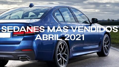 Sedanes más vendidos en Colombia en abril de 2021