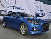 Hyundai Sonata 2018 debuta con nuevo estilo en Nueva York