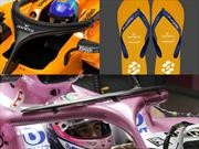 F1 echa a la broma el diseño del Halo con auspicios de havaianas