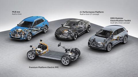 Audi predice que los futuros autos eléctricos contarán con autonomía menor