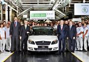 Škoda produce 10 millones de autos