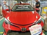 Toyota alcanza un millón de Corollas producidos en la planta de Mississippi