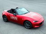 Mazda MX-5, logra llegar al  millón de unidades producidas