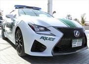 Lexus RC F es la nueva patrulla de la policía de Dubái