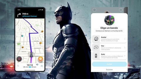 Batman y el Acertijo podrían ser tus copilotos en tu próximo viaje