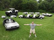 La colección más extravagante de DeLorean DMC12