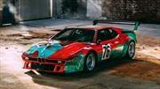 Celebran los 40 años del BMW M1 Art Car de Andy Warhol