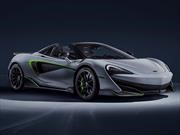 Dove Grey McLaren 600 LT Spider by MSO: ¡Deportivo de corte real!