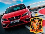 SEAT es la marca oficial de la selección española de futbol