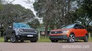 Test comparativo: Jeep Renegade Vs VW T-Cross