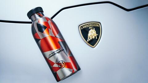 Lamborghini y 24Bottles ponen a la venta una exclusivo botella para agua
