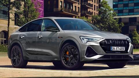 Audi e-tron S line black edition: más deportividad desde lo visual