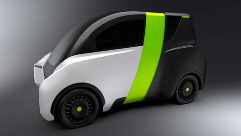 Conocé este micro auto que puede cambiar de tamaño