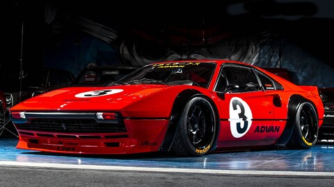 Un clásico Ferrari 308 GTB recibe un kit widebody retro en manos de Liberty Walk