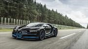 Así se filmó el récord de 0-400-0 del Bugatti Chiron en 2017