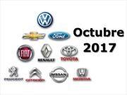 Top 10 las marcas más vendedoras de Argentina en octubre de 2017