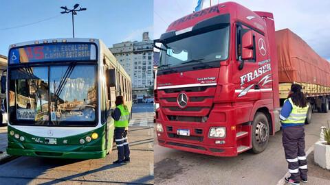 Se fortalecieron los controles en el transporte