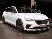 Skoda Vision RS Concept es el gemelo checo del SEAT León