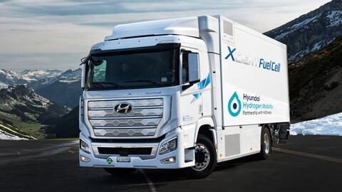 Hyundai apuesta por el negocio de los camiones de carga eléctricos de hidrógeno
