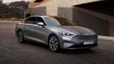 Kia K8 2022, así es el futuro de los autos de la marca coreana