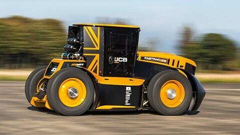 ¿Qué velocidad alcanza el tractor más rápido del mundo?