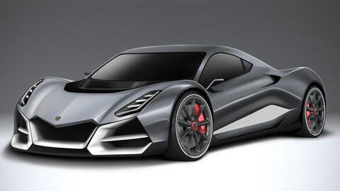 Este super auto eléctrico dotado de casi 2,000 hp vale 2.5 millones de dólares