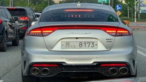 Kia Stinger 2021 se deja ver en Corea con facelift