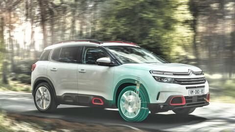 Citroën C5 Aircross estrena suspensión