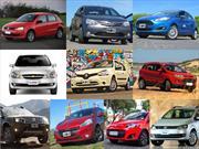 Top 10 los autos más vendidos en marzo de 2014