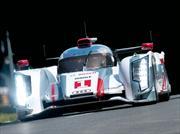 Le Mans: La marca alemana Audi copó la primera fila de la grilla