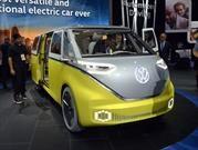 Volkswagen I.D. Buzz, una van eléctrica para 8 pasajeros