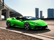 Lamborghini Huracán EVO Spyder, despeinate a toda velocidad