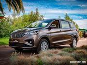 Suzuki Ertiga 2019 en Chile, confort y espacio para todos