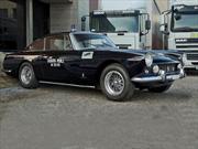 Video: Ferrari 250 GTE una patrulla de policía en Roma durante los 60s