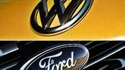 Volkswagen y Ford, alianza para desarrollar autos de conducción autónoma