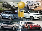 Ya están los finalistas para los World Car Awards 2013