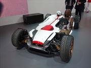 Honda Project 2&4 Concept, entre un auto y una motocicleta