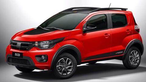FIAT Mobi 2021 suma la versión Trekking