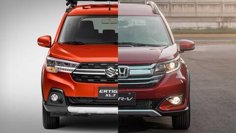 Honda BR-V vs Suzuki Ertiga XL7, eficiencia y versatilidad para 7 pasajeros ¿cuál es mejor?