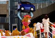 Toyota construye una garra gigante en Japón