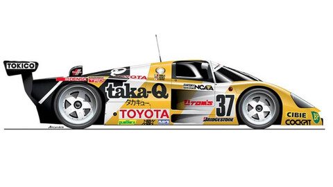 Todos los modelos que utilizó Toyota en las 24 Horas de Le Mans