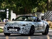 Jaguar F-Type Convertible debuta en el Festival de la Velocidad de Goodwood